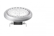 Philips MASTER LED AR111 dimmbar (50W) - 10W 3000K 24° G53 Weiss