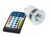 MR16 RGB LED-SPOT MIT FERNBEDIENUNG 5W