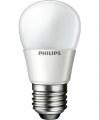 Philips MASTER LEDluster MV 4W P45 matt 4-25W E27 2700K dimmbar / Warmweiss